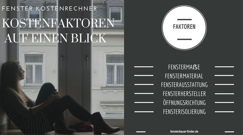 fenster kostenrechner fensterkosten online. Black Bedroom Furniture Sets. Home Design Ideas