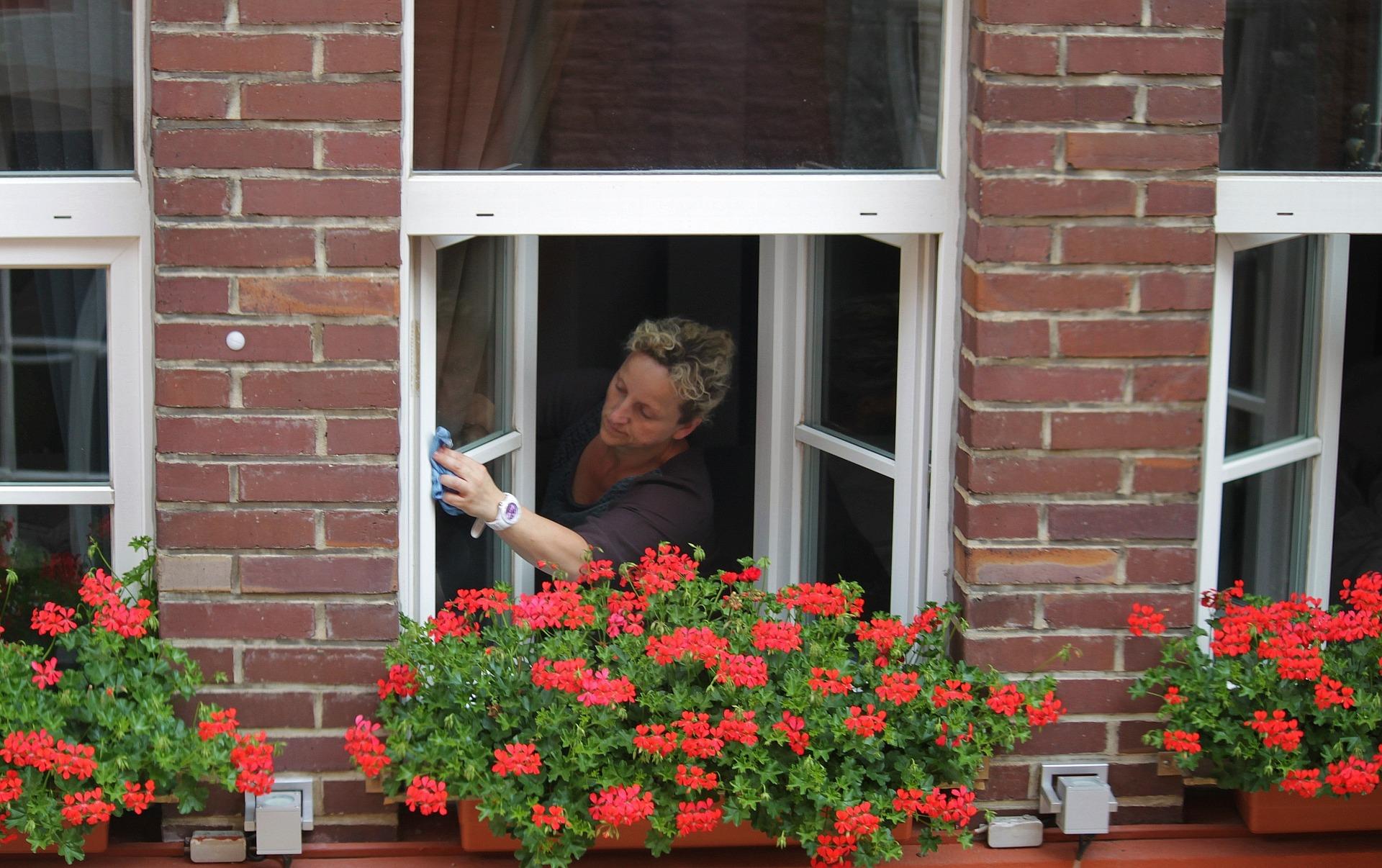 Fensterrahmen reinigen Fenster richtig putzen